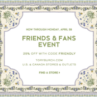 Tory Burch Friends and Family