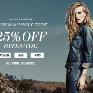 7 For All Mankind Friends Family Sale