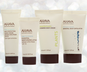 Ahava Free Summer Gift with Purchase
