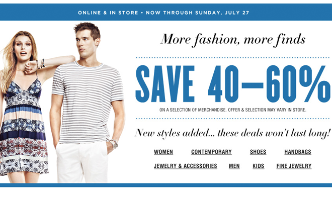Bloomingdales.com - 40-60% Off Summer Sale