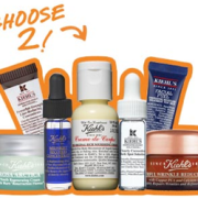 Kiehl's Free 2 Deluxe Samples with Serum Purchase + 3 Complimentary Samples