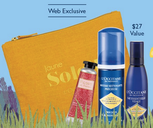 L'Occitane Free 4-Piece Summer Gift with Purchase