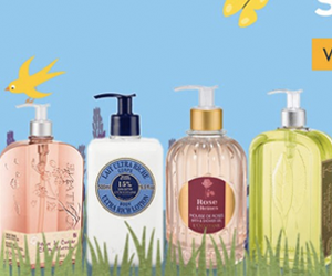 L'Occitane Free Jumbo Shower Gel