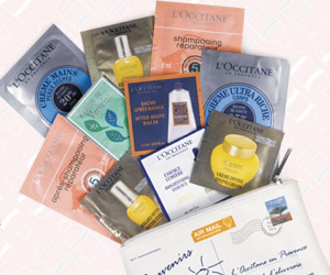 L'Occitane Free Sample Set
