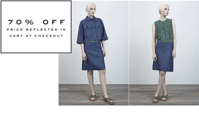 MarcJacobs.com - 70% Off Resort 2014 RTW