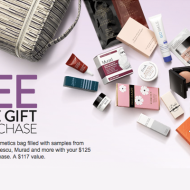 Nordstrom free gift with purchase