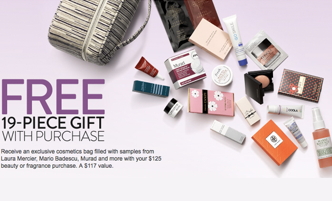 Nordstrom.com - Free 19-Piece Beauty Gift with Purchase