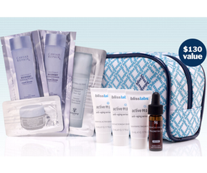 Bliss Spa September Free Gift with Purchase
