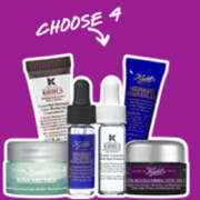 Kiehl's Choose 4 Deluxe Samples with Purchase
