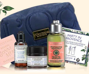 L'Occitane Free 5-Piece Travel Gift with Purchase