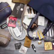 Saks Fifth Avenue Free Sample Filled Gift Bag with Purchase