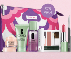 Clinique Bonus Time 7-Piece Free Gift with Purchase