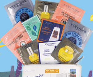 L'Occitane Exclusive Free 10-Piece Sample Gift with Purchase