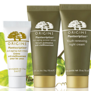 Origins Free Anti-aging Sample Trio with Purchase