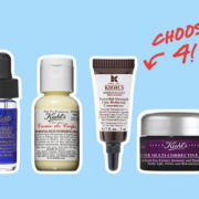 Kiehl's 4 Free Deluxe Samples Plus Free Shipping with Purchase