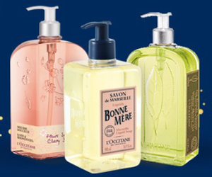 L'Occitane Free Deluxe Shower Gel with Purchase