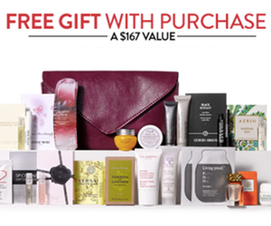 Nordstrom – Free 20-Piece Beauty Gift with Purchase