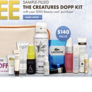 Beauty.com Free Sample Gift