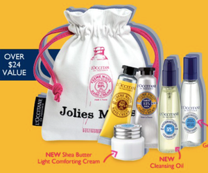 L'Occitane Free Shea Gift Set with Purchase