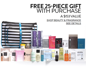 Nordstrom Free 25-Piece Web-Exclusive Gift with Purchase
