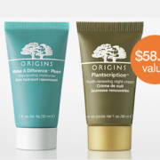 Origins Free Gift Plus Free Shipping with Purchase