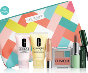 Dillard's Clinique Bonus Time Free 7-Piece Gift with Purchase
