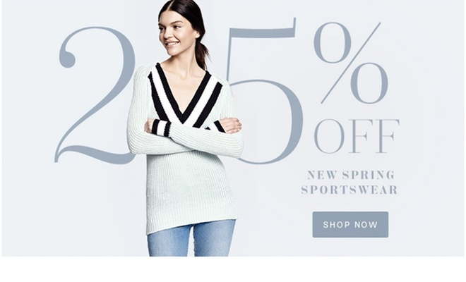 Lord & Taylor - 25% Off Spring Sportswear