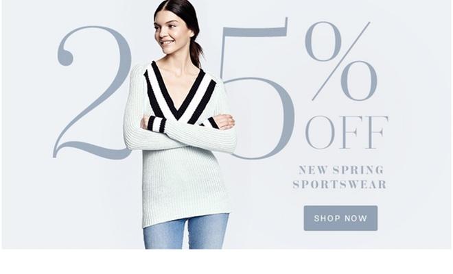 Lord & Taylor - 25% Off Spring Sportswear