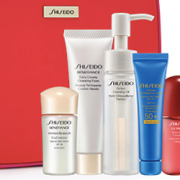 Nordstrom Shiseido Free 6-Piece Skin Care Gift with Promo Code