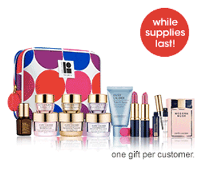 Macy's Estee Lauder Free 8-Piece Gift with Purchase