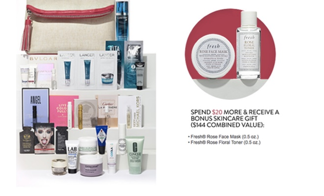 Nordstrom - Free 24-Piece Beauty Gift with Purchase