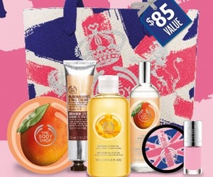 The Body Shop purchase with purchase