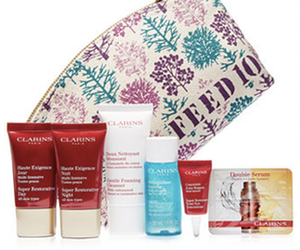 Macy's Clarins free gift with purchase