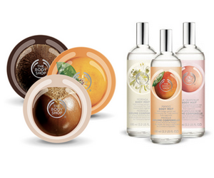 The Body Shop buy 3 get 3 free plus promo code