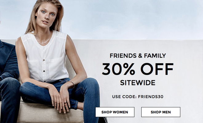 7 For All Mankind - 30% Off Sitewide Sale