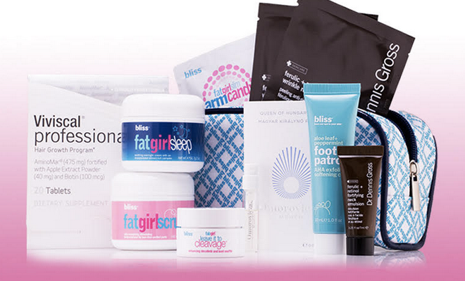Bliss Spa - Free 10-Piece Deluxe Gift with Purchase