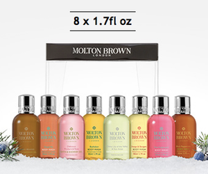 Molton Brown free body wash gift with purchase