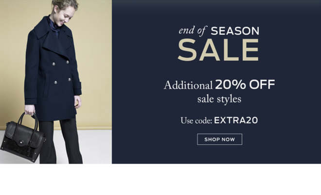 Etienne Aigner - Extra 20% Off All Sale Items