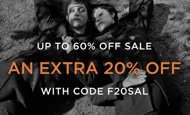 French Connection - Up to 60% Off + Extra 20% Off Sale!