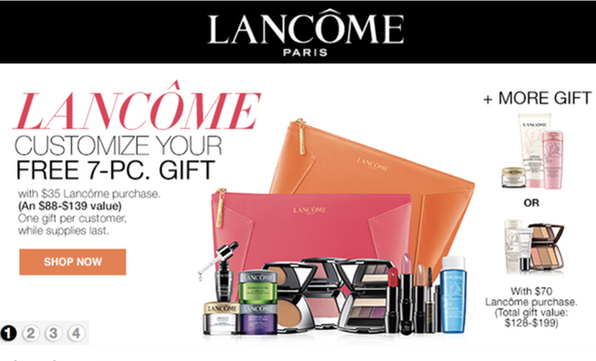 Macy's - Lancome Free 7-Piece Deluxe Gift with Purchase