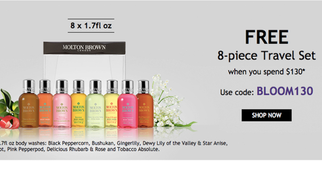 Molton Brown - Free 8-Piece Deluxe Travel Set with Purchase